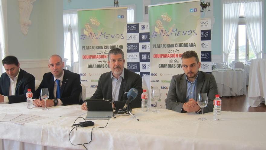 AM-Plataforma #NsMenos para equiparar salarios de Benemérita busca apoyos en Cantabria y se reúne el viernes con Revilla