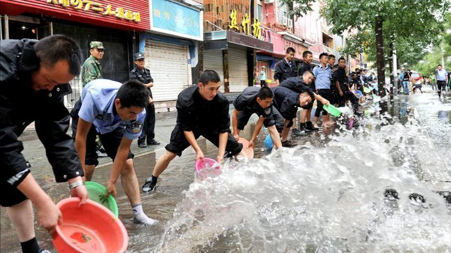 Al menos 33 muertos en temporales en el sur de China
