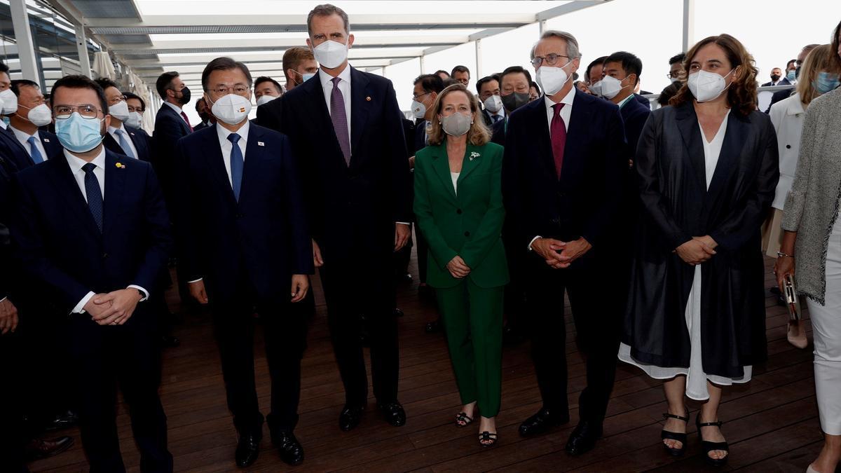 Gobierno y Generalitat, junto al rey esta semana en Barcelona