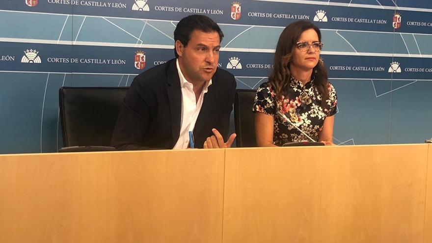Raúl de la Hoz (PP) y Ana Carlota Amigo (Ciudadanos).
