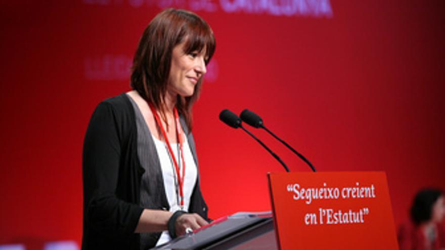 La número 4 del PSC y secretaria del Govern, Laia Bonet.