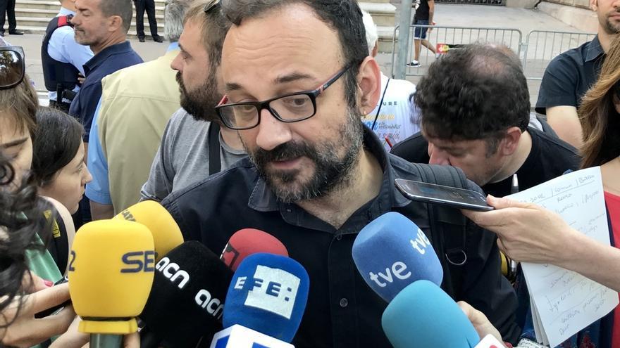"""La CUP exige la dimisión del consejero que duda del referéndum: """"Si no está en condiciones que deje paso a otra gente"""""""