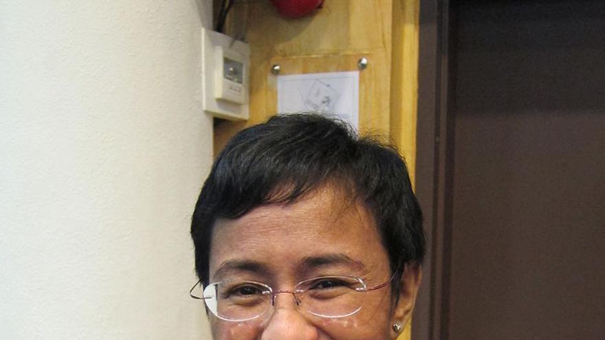 María Ressa, periodista filipina que lucha por la libertad de prensa en su país / Wikipedia