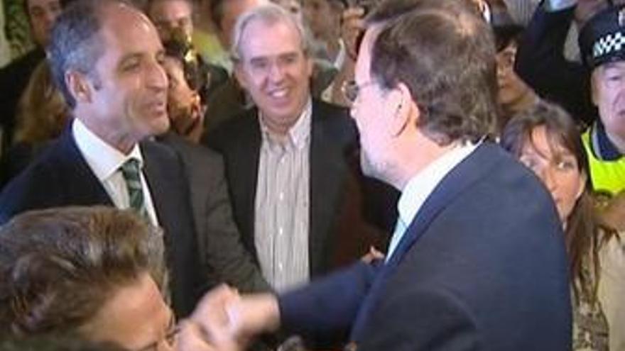 Rajoy y Camps almuerzan en medio de la polémica por el 'caso Gürtel'