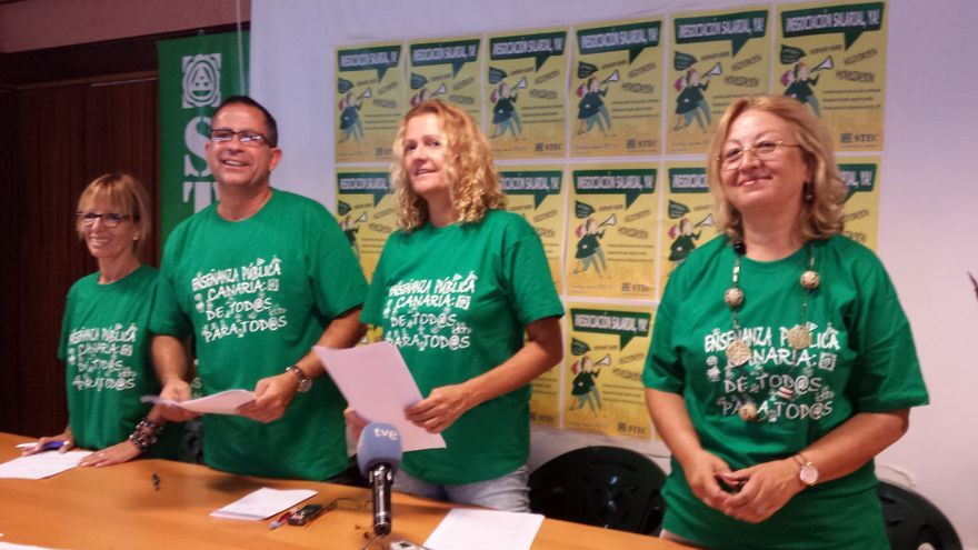 El profesorado canario exige una subida salarial bajo amenaza de movilizaciones