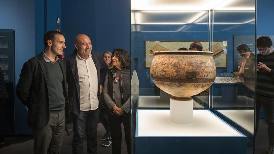 La peça d'art ibèric va ser trobada el 1934 a Llíria