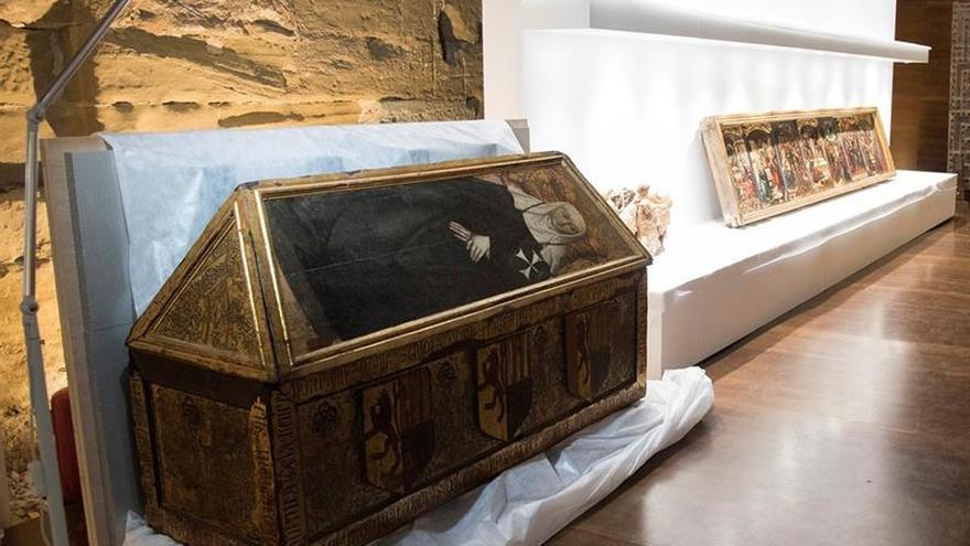 El pasado lunes regresaron a Aragón los bienes de Sijena