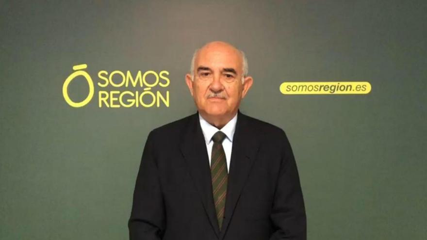 Alberto Garre, presidente de Somos Región