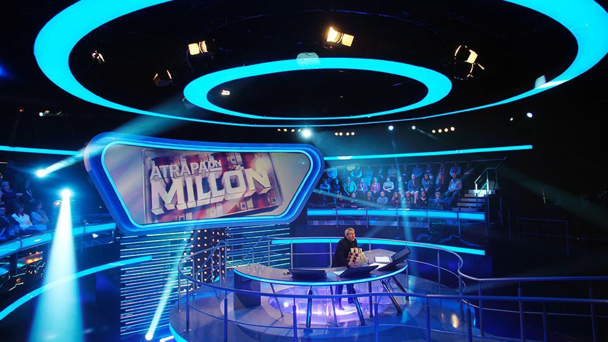 Plató de 'Atrapa un millón'