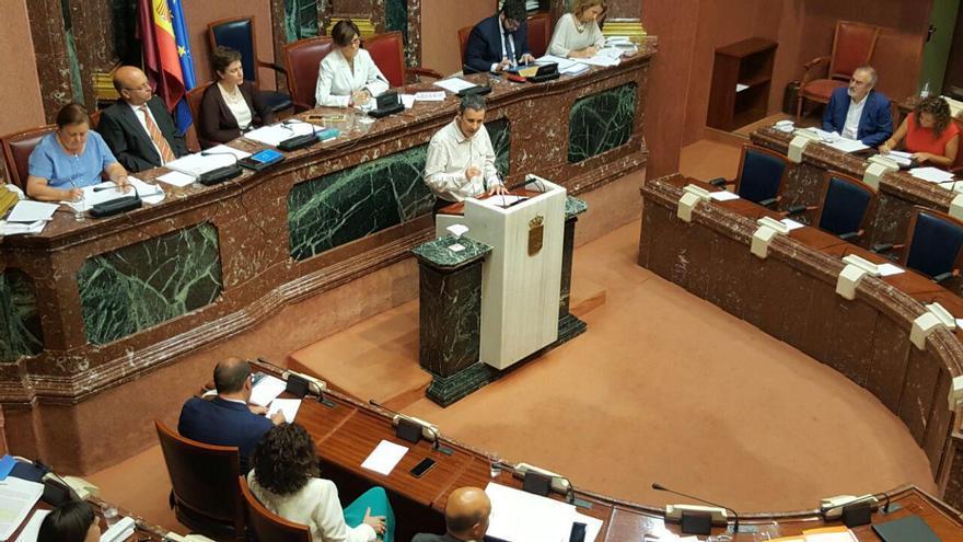 La Asamblea Regional debate las modificaciones a la ley de presupuestos
