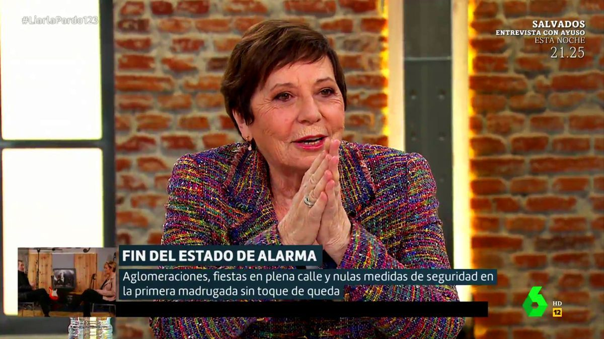 Celia Villalobos en 'Liarla Pardo'