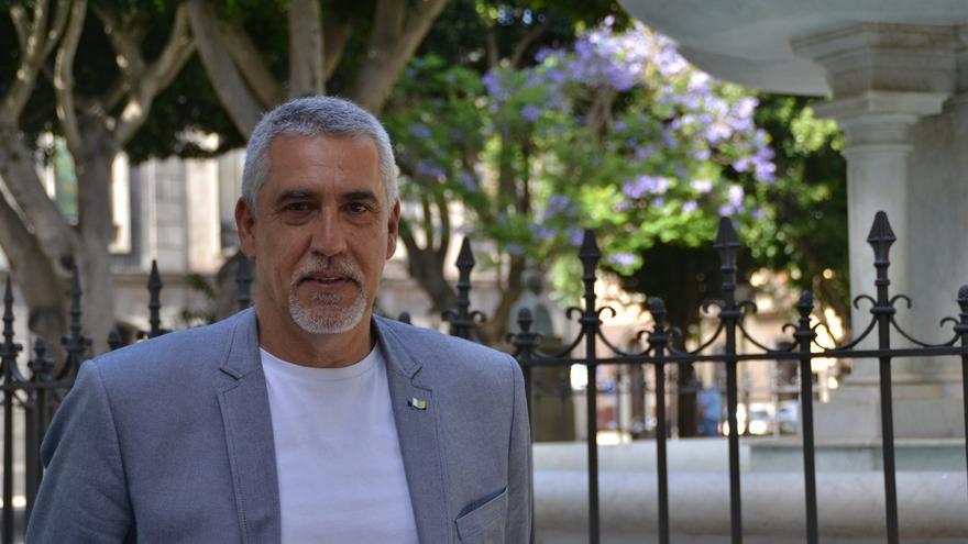 Juan Manuel Castañeda, portavoz de CC en La Laguna