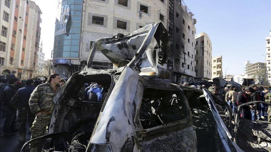 Al menos 8 muertos y 20 heridos por un atentado en Damasco