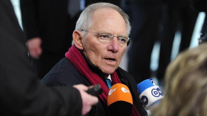Schäuble pide a la cámara baja alemana su respaldo al rescate de Chipre