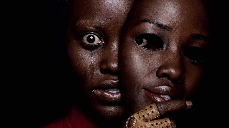 Póster de 'Nosotros', con Lupita Nyong'o como Adelaide Wilson y Red