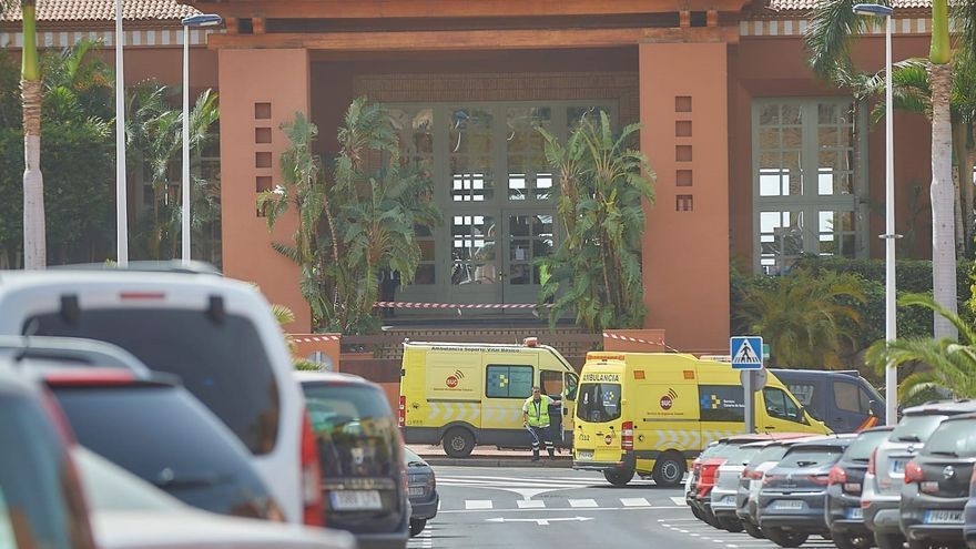Hotel de Adeje en situación de aislamiento por el positivo en coronavirus de un turista italiano