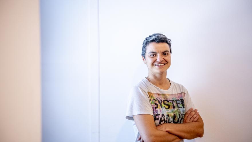 La portavoz de En Comú Podem en el Congreso, Lucía Martín.