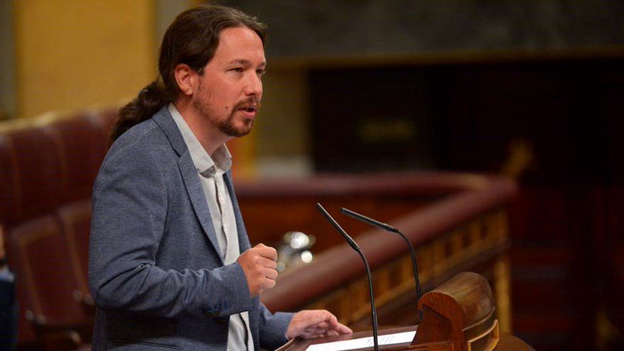 Pablo Iglesias en el Congreso sobre la trama Gürtel