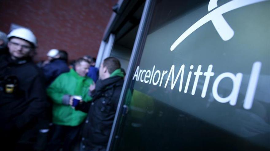 Arcelor rebaja sus pérdidas en el primer semestre hasta los 114 millones