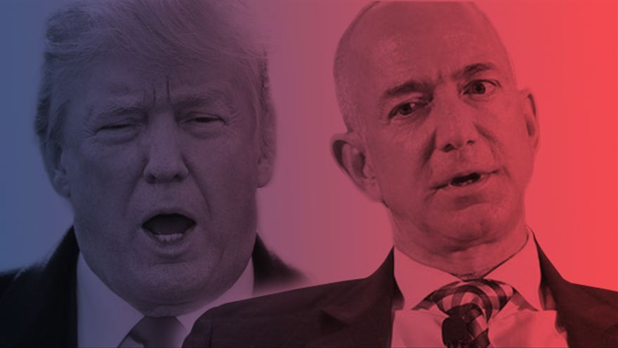 Jeff Bezos o Donald Trump, parece que los estadounidenses están obligados a elegir