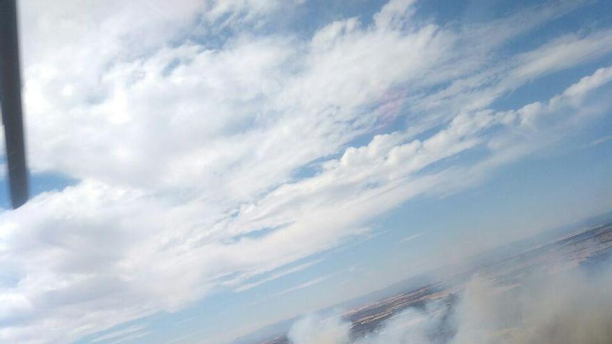 Los incendios en Guadalajara siguen sin ser controlados y han afectado a terrenos agrícolas y forestales