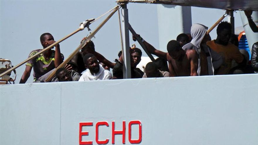 20.000 inmigrantes y refugiados llegaron por el Mediterráneo a España en 2017