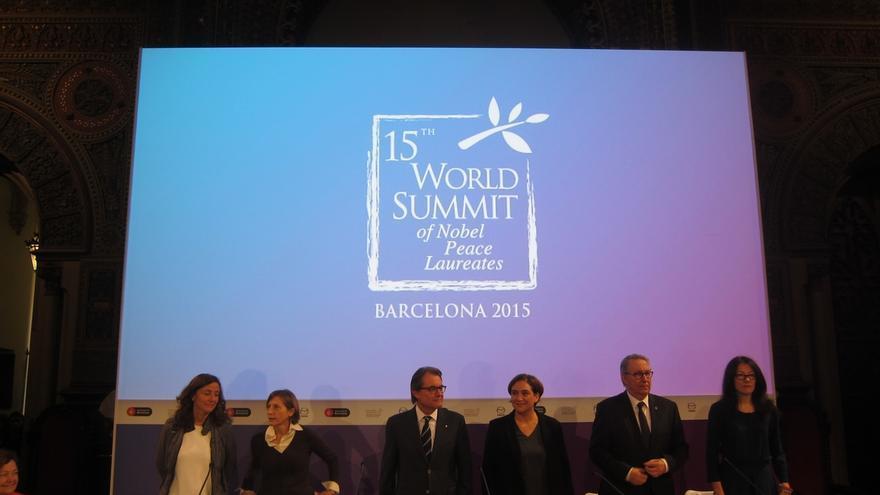 Mas reivindica la paz como parte de la mentalidad catalana