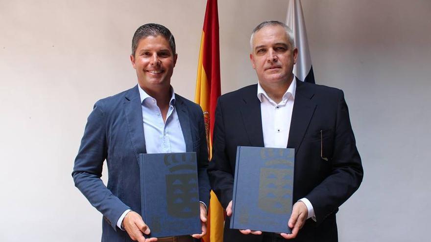 Pablo Pais (i) y Ricardo García.