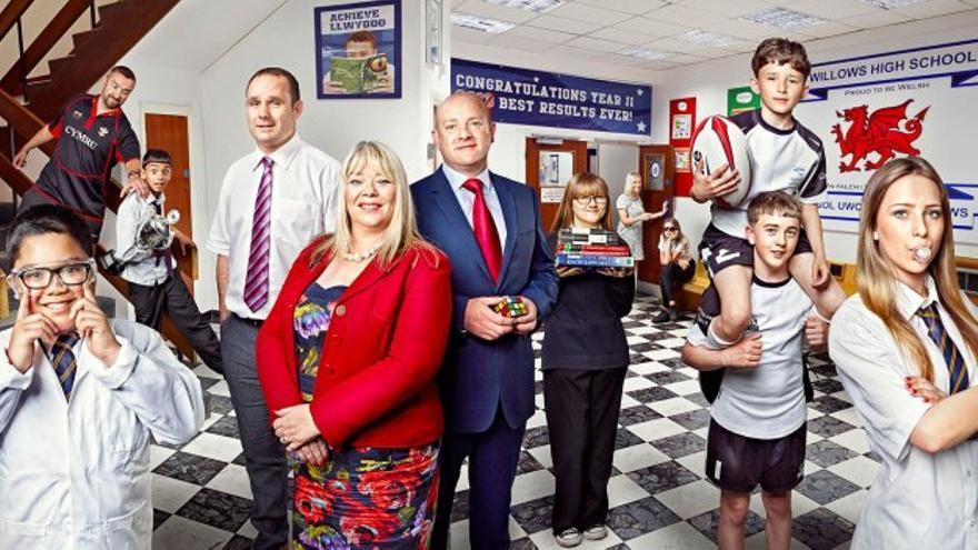 Imagen promocional de 'Educating Cardiff', el programa que la productora Shine pretende hacer en Madrid