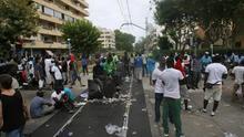 Libertad con cargos para dos manteros detenidos por los disturbios de Salou