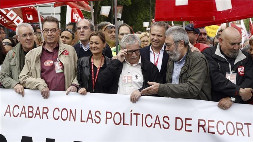 Toxo pide a los partidos que se comprometan a restaurar los derechos perdidos