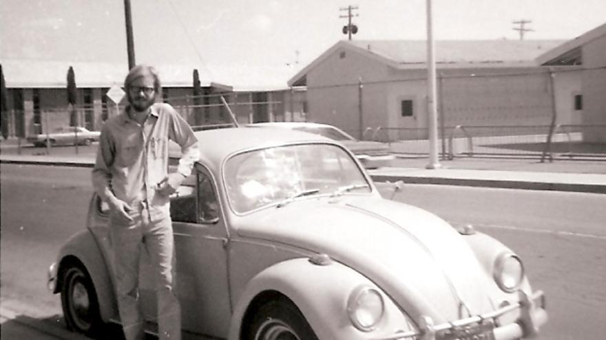 Gary Anderson, en una foto de los años 70 (Imagen: Cedida por Gary Anderson)