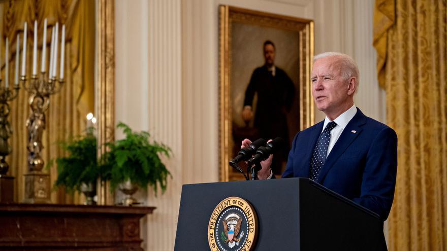 El presidente estadounidense, Joe Biden. EFE/Andrew Harrer