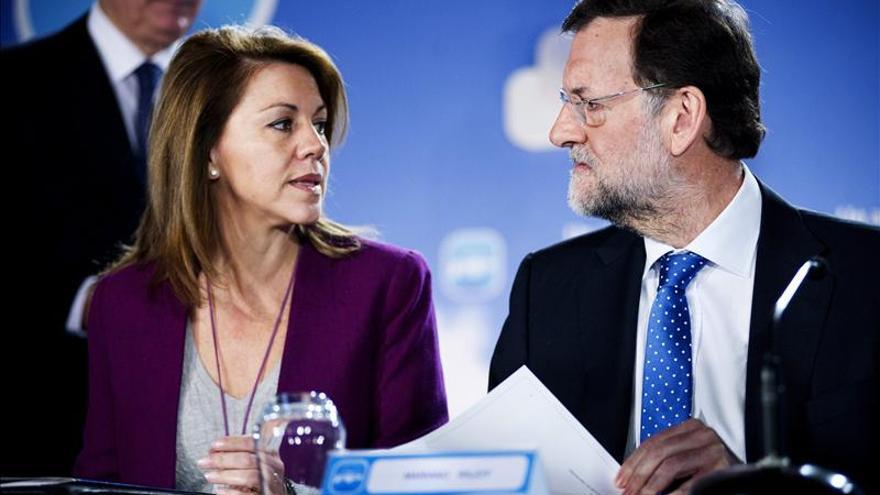 Rajoy clausura la Interparlamentaria del PP, marcada por el reparto del déficit