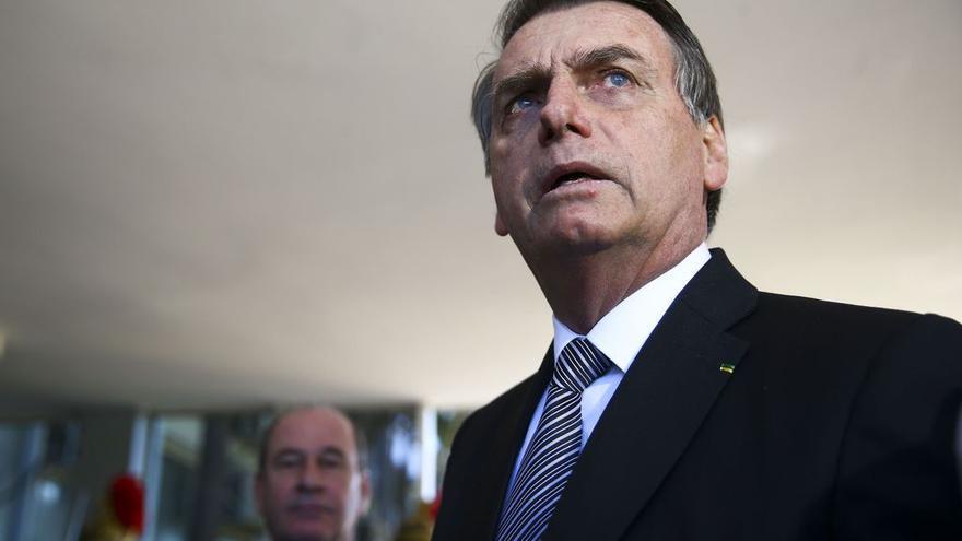 El presidente brasileño Jair Bolsonaro, en una reunión con el ministro de Defensa, el pasado 2 de julio.