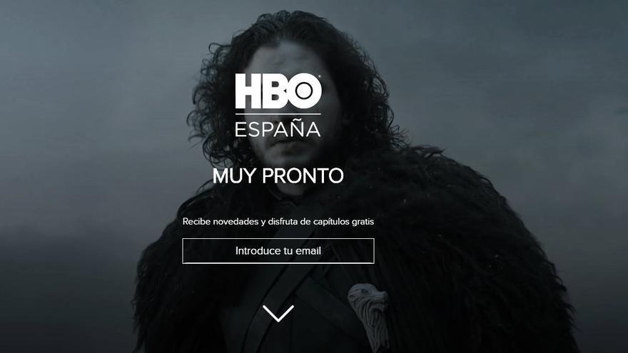 Web de HBO España