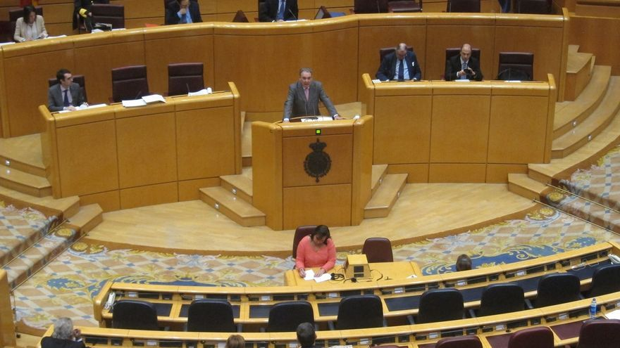 El Pleno del Senado se inicia con un minuto de silencio por las víctimas de Barcelona y Cambrils