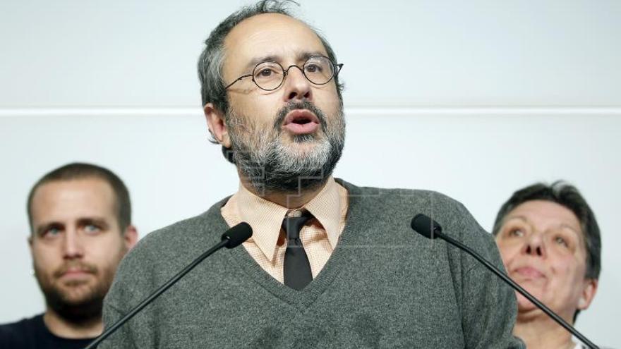 """Baños (CUP) se burla del acento andaluz ante la """"banalización"""" del 'procés'"""