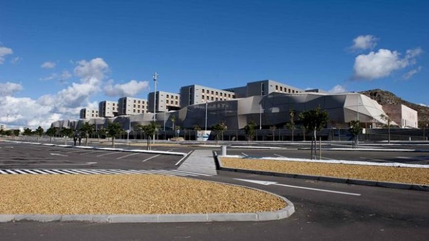 Hospital General Universitario Santa Lucía, en Cartagena.