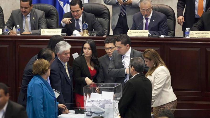 Fracasa la elección de 7 magistrados del Supremo hondureño por una papeleta falsa