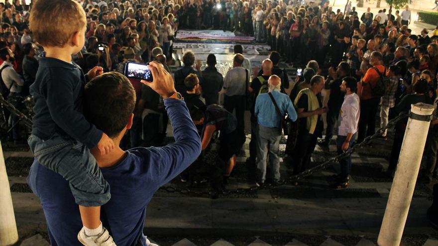 Manifestación 'El machismo es violencia'.