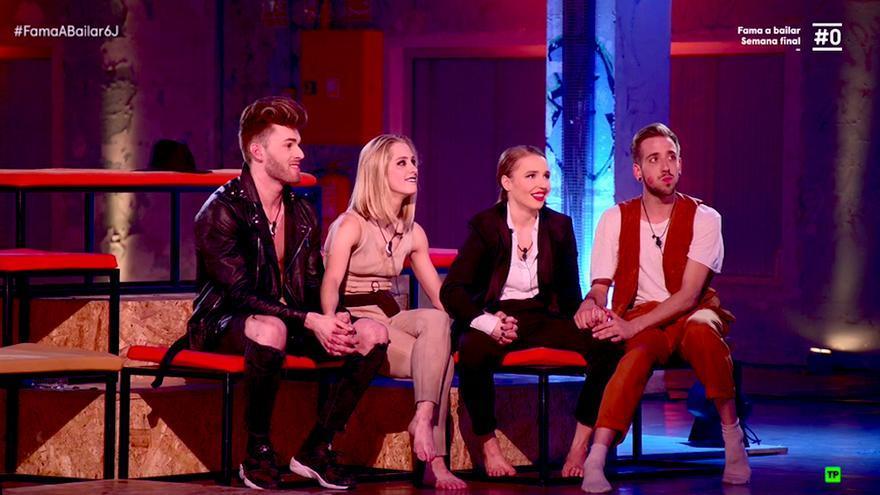Pablo, Ester, Adrián y Wondy se convierten en los cuatro finalistas de Fama, ¡a bailar!