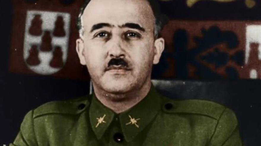 Franco en 'España dividida: la guerra civil a color', de DMAX
