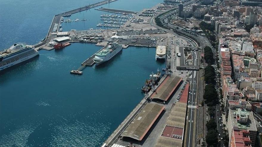 Puerto de Santa Cruz de Tenerife en fotografía de la Autoridad Portuaria