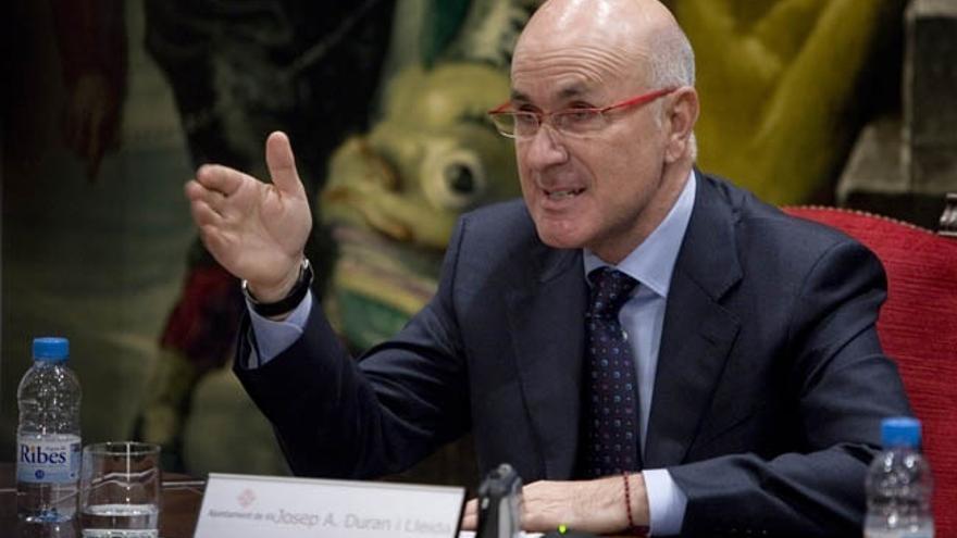"""Duran acusa a ERC de """"romper"""" la unidad del Parlament sobre el derecho a decidir"""