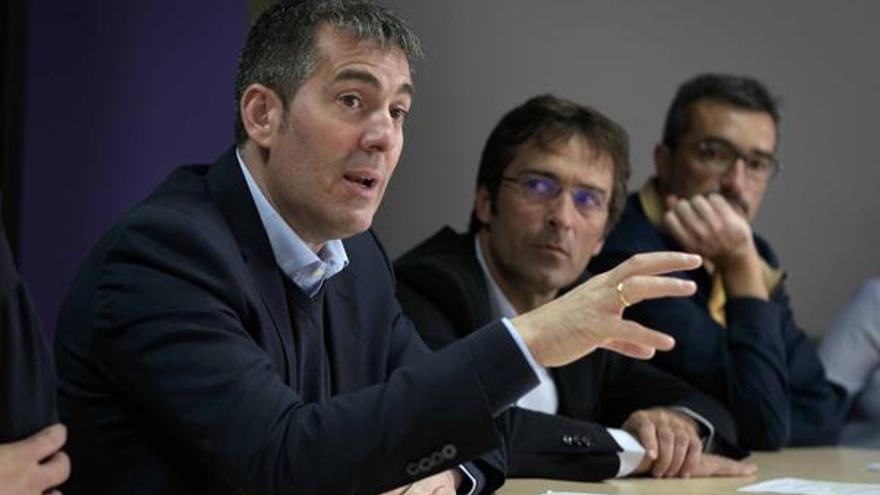 Fernando Clavijo y Pedro San Ginés (Arturo Rodríguez)