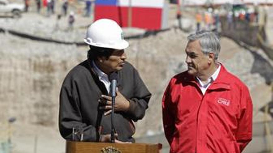 Morales agradece a Piñera el rescate del minero boliviano