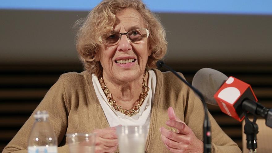 Un juzgado de Segovia remite a Madrid una querella de Manos Limpias contra Carmena y su marido