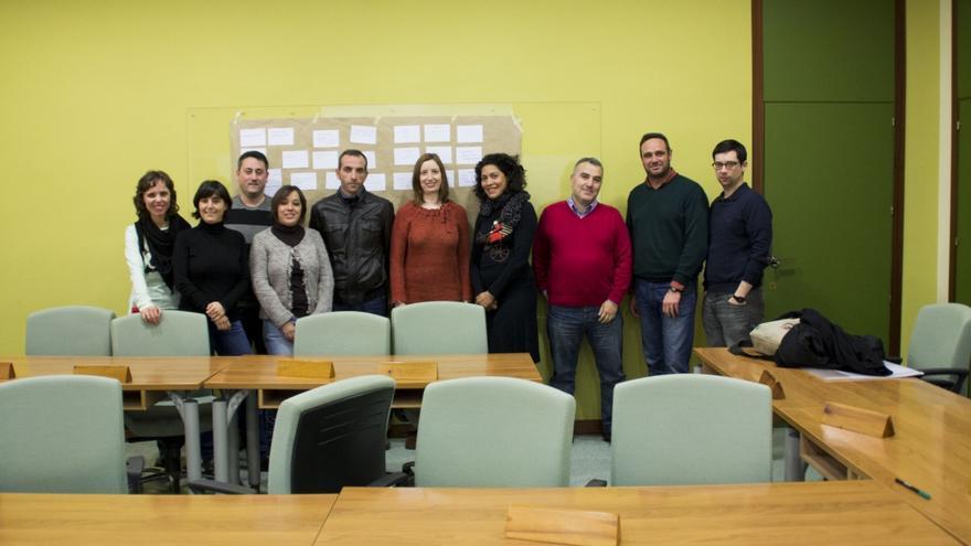 Los miembros de la Lanzadera de Empleo de Armilla