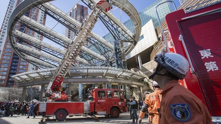Un terremoto de 5,6 grados golpea la región de Tokio sin alerta de tsunami